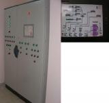 Автоматический щит управления насосными станциями, смывными станциями и цехом разделения, оснащенный сенсорным экраном и удаленным доступом