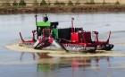Плавающий перемешивающий понтон - пропеллерная мешалка Hydro F4
