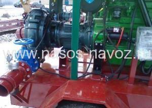 Дизельные насосные станции для перекачки навоза с двигателем John Deere-JD T6068-225
