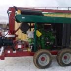 ДНС для перекачки навоза с двигателем JD 6090